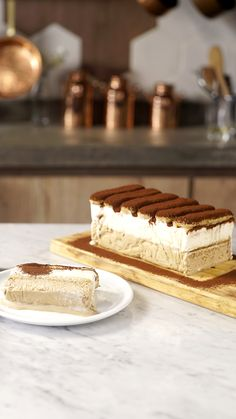 This super delicious Tiramisu Cake recipe comes with detailed step-by-step photos and video. Tiramisu Cake Recipe by Also The Crumbs Please Baking Recipes, Cake Recipes, Dessert Recipes, Tasty, Yummy Food, Frozen Desserts, Sweet Recipes, Sweet Treats, Toque