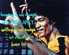 Truth . . . #motivationmonday #brucelee #love