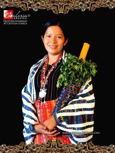 Traje indígena de RABINAL BAJA VERAPAZ, GUATEMALA