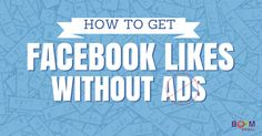 Great blog post at Kim Garst Boom Social - Social Selling Strategies That Actually Work :   Is it possible to get Facebook Page likes without buying ads? Unfortunately, many frustrated business owners don't think so. Maybe you[..]