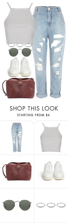 """Untitled #873"" by honeyandsilk ❤ liked on Polyvore featuring River Island, Topshop, Acne Studios, Ray-Ban and New Look"