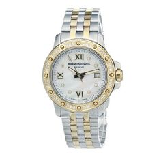 Raymond Weil Ladies Tango Steel & 18ct Gold Plated Watch 5799-SPS-00995 Mother of Pearl 44 Diamonds, Sapphire Crystal Glass Raymond Weil, http://www.amazon.co.uk/dp/B001HBSP62/ref=cm_sw_r_pi_dp_ghKAsb0AWETNJ 975£