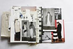 Fashion Sketchbook - fashion design drawings, research & theme development…