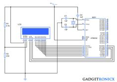 23 best 8051 microcontroller images on pinterest circuit diagram animated scrolling text in 16x2 lcd using 8051 microcontroller scrolling texttext animationcircuit diagramelectronics ccuart Choice Image