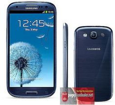 Only 119.97 Samsung Galaxy S3 SIII SCH-I535 - 16GB Blue (Verizon)(Page Plus) Smartphone  #Samsung #Bar