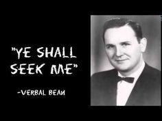 Ye Shall Seek Me | Verbal Bean (AUDIO) - YouTube