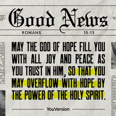 Dear God Quotes, Quotes About God, Good News, Common English Bible, Moral Stories For Kids, Romans 15, Daily Devotional, Bible Scriptures, Scripture Verses