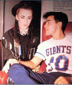 Boy George and Jon Moss