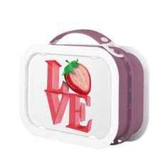 I LOVE STRAWBERRY LUNCHBOXES