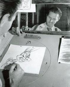 Chuck Jones, animador de Bugs Bunny