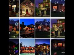Garden LED Light Projector S/&G Waterproof Outdoor Indoor Landscape Projector Lamp for Christmas Party Birthday Holiday Landscape Decoration colorful Switchable Slide