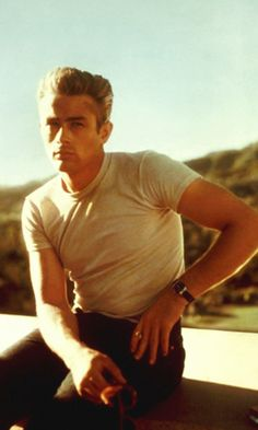 James Dean  (This picture of James Dean reminds me of my father so very much)