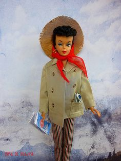 Great vintage Barbie with outfit!