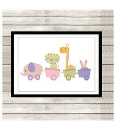 Lámina decoración habitación bebé de By Yolanda por DaWanda.com