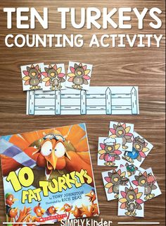 Ten Turkeys Counting Activity2