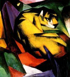 Franz Marc Tiger Reproduction | Somerville Arts