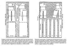 esempi di modifiche al cartamodello base