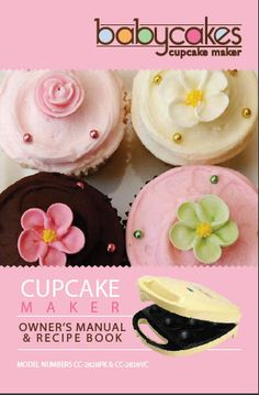 Babycakes recipes (in comments)