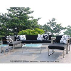 Lounge sofa 2 sitzer outdoor  Kettal - Landscape Sofa / Gartensofa 2-Sitzer XL | Outdoor Space ...
