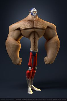 vincent-dromart-luchador-v1-sd.jpg (1670×2500)