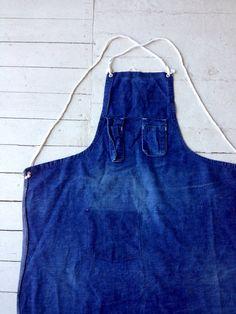 selvedge apron