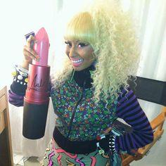 Nicki Minaj's MAC lipstick is the brand's best-selling ever!