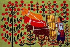 Folk painters of the Mariya Pryimachenko