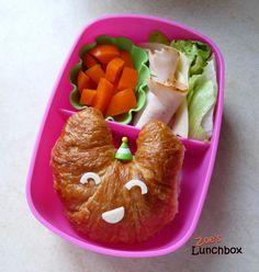 Mini Croissant DIY Sandwich Back To School Lunch Ideas, Out To Lunch, School Ideas, Food Definition, Mini Croissants, Healthy School Lunches, Good Food, Yummy Food, Bento Box