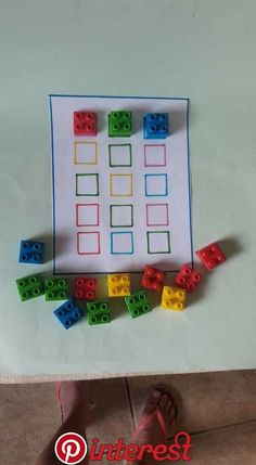Lego nach Farbe sortieren | Kinder | Pinterest | Preschool, Kindergarten and Activities