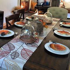 I'm just getting started. Fall decor is so warm and happy, how can you not love it. The table is the centerpiece of your home. I truly believe that a good table setting will reflect how you want the rest of your home to feel. So when changing your decor for a season or holiday #start with the table. #dinnerplate  #saladplate  #tablerunner  #centerpiece  #homegoods  #crateandbarrel  #potterybarn #southern_gnaw  @homegoods  @crateandbarrel  @potterybarn  Come back soon to see one of the…