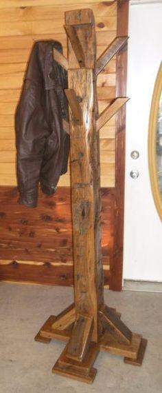 1000 Images About Rustic Coat Rack On Pinterest Coats