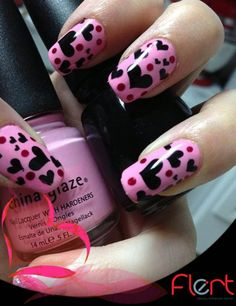 decorated nails Do you think this proposal to your nails with decoración¡ Like? Dare # #DivaFlert #Nails.