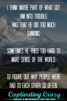 9 Into The Wild Quotes For When You're Feeling Overwhelmed - Captivating Crazy Wild Quotes, Quotes Quotes, Motivational Quotes, You Can Do It Quotes, Quotes To Live By, Christopher Mccandless, Self Care Activities, How To Gain Confidence, Meaningful Life