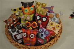 Quilted and Stitched Wishing Owls with Lynn Krawczyk as seen on Quilting Arts TV Series 801 - Quilting Daily