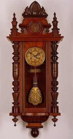 antique gustav becker pendulum wall clock approx1900 - Pendulum Wall Clock