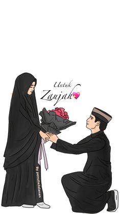 21 mei автор пина:the hakak. Cute Muslim Couples, Muslim Girls, Cute Couples, Cute Couple Selfies, Cute Couple Art, Wedding Illustration, Couple Illustration, Cute Bear Drawings, Islamic Cartoon