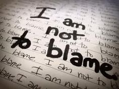 I am not to blame.