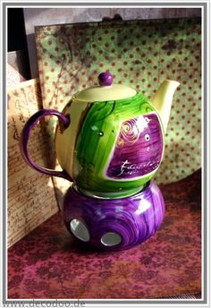 Teekanne mit Stövchen Marengo