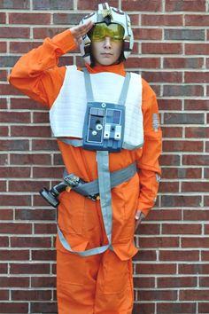 The Star Wars X-Wing Fighter Pilot Review from Wholesale Costume Club