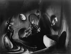 German Expressionism SURREAL NIGHTMARE COLLAGE