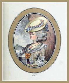 https://flic.kr/p/9rMcDx | Hats by Madame Bertin 1782