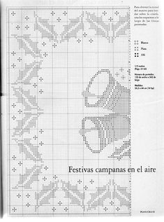 No automatic alt text available. Annie's Crochet, Crochet Winter, Filet Crochet, Crochet Patterns, Crochet Table Runner, Crochet Tablecloth, Christmas Knitting, Christmas Cross, Cross Stitch Designs