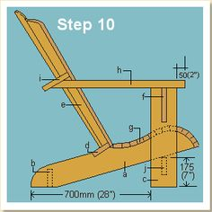 Woodworking - Adirondack Chair Plans