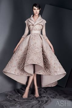 Lebanese designer and CEO of Ashi Studio, Mohammed Ashi presented his Spring/Summer 2017 haute couture collection tagged Whispers and we are loving it. Couture Fashion, Fashion Show, Fashion Outfits, Fashion Design, Fashion News, Dress Fashion, High Fashion Dresses, Chanel Couture, Women's Fashion
