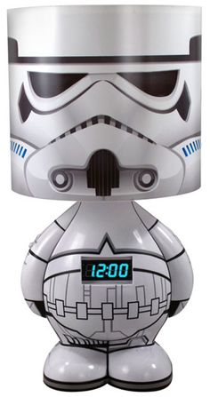 Still time for Christmas gift buying . . . Stormtrooper Lamp!