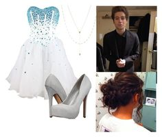 """""""Prom with Luke hemmings"""" by violetedison on Polyvore"""