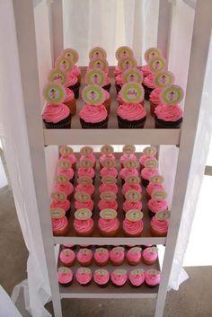 Rocio R's Baby Shower / ballerina party - Photo Gallery at Catch My Party Ballerina Baby Showers, Ballerina Party, Cupcake Party, Cupcake Ideas, Cupcakes, Cupcake Cakes, Cupcake Display, Party Places, Birthday Tutu