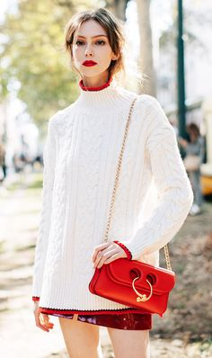 Did You Get the Memo? Everyone Is Wearing This Color Now via @WhoWhatWear