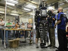 Google acquires maker of military robots — now what will it do with them?  (Photo: Boston Globe via Getty)