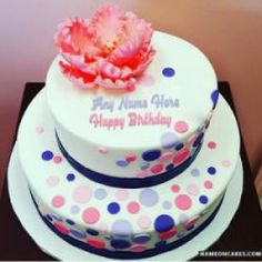 Happy Birthday Decorated Cakes With Name